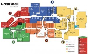 Great Mall Map Great Mall